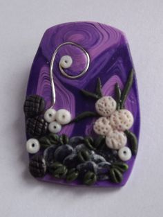 Items similar to Purple Pendant Abstract Flower Pendant Handmade Pendant from Polymer Clay Purple Cream Flower Pendant One Of A Kind Jewelry on Etsy Purple Pendants, Abstract Flowers, Flower Pendant, Miniatures, Magic, Invitations, Etsy Shop, Trending Outfits, Unique Jewelry