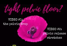 Tips for a tight pelvic floor- Both men and women can have pelvic floor problems. It's difficult to regain control of the pelvic floor muscles once they are in spasm; chronic tension takes a lot of focus, mental concentration, and practice to be able to relax and release. However, it's absolutely possible. | FemFusion Fitness #womenshealth