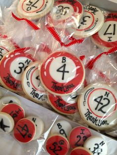 Relay for Life Idea-sell cookies and then select a bingo number for prizes! Casino Theme Parties, Casino Party, Party Themes, Party Ideas, Casino Night, Bingo Cake, Bingo Party, 80th Birthday, Birthday Parties
