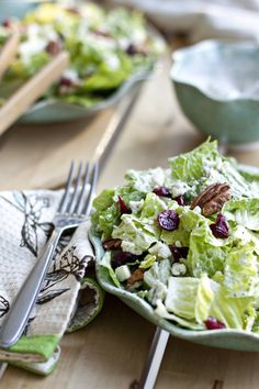 cranberry salad with poppy seed dressing top