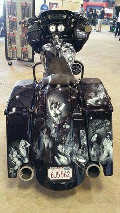 Fantastic Tricks  Harley Davidson Street Glide Seat harley davidson preto e  branco desenho. 50af0e3721