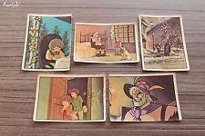 Lot 5 vignette Panini 116 164 172 189 193 sticker album 1982 TMS 1977 TF1 ♦ REMI