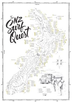 The Surf Quest Poster
