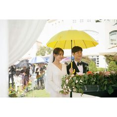 Tomorrow with you drama wedding Star Wedding, Wedding Bells, Dream Wedding, Tomorrow With You, Lee Je Hoon, Most Beautiful Images, Wedding Inspiration, Celebs, Fancy