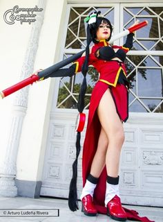 Me as Litchi Faye Ling from BlazblueCostume, props and makeup made by myselfMore info and full cosplay and modeling album http://www.facebook.com/carmenpilarbestPhoto by Arturo Ludeña http://www.facebook.com/pages/Fotografia-Arturo-Ludeña/341308445990890?fref=ts
