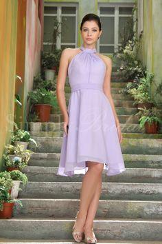 Abito da cerimonia color lavanda per un matrimonio a tema o per una mise elegante  http://www.lemienozze.it/operatori-matrimonio/vestiti_da_sposa/