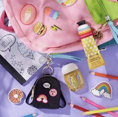 Baby Doll Strollers, Shimmer Lip Gloss, Cute Pens, Unicorn Makeup, Kids Makeup, Cute School Supplies, Girl Life Hacks, Bath And Bodyworks, Teenage Girl Outfits