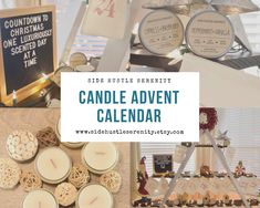 🕯🕯CALLING ALL CANDLE LOVERS 🕯🕯 PRE-ORDER Candle Advent Calendar | 25 Different Candle Gift Set | Christmas Countdown Calendar | Advent Calendar Candle Lovers | Best Gifts www.sidehustleserenity.etsy.com