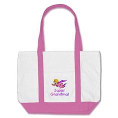 Super Grandma (Flying) Canvas Bag