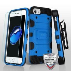 STORM TANK MILITARY PROTECTOR CASE W/TEMPERED GLASS SCREEN PROTECTOR