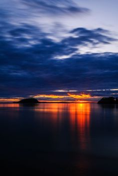 July Sunset (Deception Pass State Park, Washington) by Steve G. Bisig on 500px