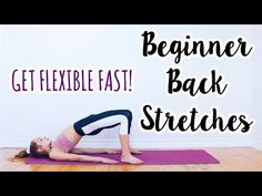 Back Stretches for the Inflexible! Dance Flexibility Stretches, Flexibility Routine, Anna Mcnulty, Warm Up Routine, Stretch Routine, How To Get Abs, Low Impact Workout, Anytime Fitness, Contortion