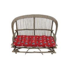 Alabama Crimson Tide Settee Cushion, Multicolor