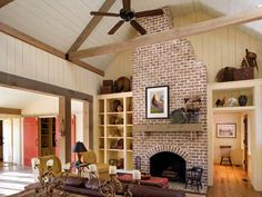 Tour This Barn-Inspired Home - Home Decorating Ideas - Country Living *love the style of this house*