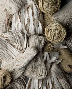 "Pasta bundles | From the blog post ""Shop news:  new bowls + spring broth"", via herriottgrace with photos by michael graydon + nikole herriott"