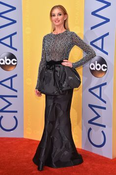 Singer-songwriter Faith Hill attends the 50th annual CMA Awards at the Bridgestone Arena on November 2, 2016 in Nashville, Tennessee.