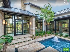 Braswell Architecture, Inc. Extravagant Homes, Hill Country Homes, Transitional House, Rustic Contemporary, Garden Landscape Design, Glass House, House Goals, Beautiful Space, Outdoor Rooms