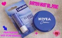Must Be... Pink!: Novo Passatempo Must Be... Pink! Nivea/Labbelo
