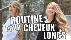 ROUTINE POUR CHEVEUX LONGS + COMMENT JE GARDE MES CHEVEUX EN SANTÉ! Youtubers, Back To School, Routine, Girly, Apps, Nice, People, Photos, Grow Long Hair
