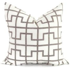 Celerie Kemble Bleecker Bear Decorative Pillow Cover, Square or Lumbar pillow - Accent Pillow, Throw Pillow by PopOColor on Etsy https://www.etsy.com/listing/179426920/celerie-kemble-bleecker-bear-decorative