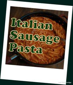 Italian Sausage Pasta (S)