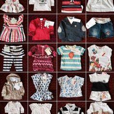Mix Kinderbekleidung Marke Chicco