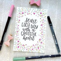 is making beautiful things with the Tombow Dual Brush Pens and the Fudenosuke! Calligraphy Quotes Doodles, Brush Lettering Quotes, Doodle Quotes, How To Write Calligraphy, Hand Lettering Quotes, Calligraphy Letters, Typography Letters, Modern Calligraphy, Doodle Lettering