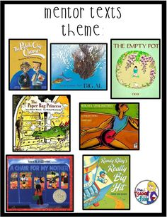 Mentor texts and lots of ready to use reading ideas to teach theme! More