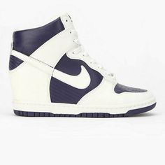 nike wedge sneakers.... not sure how i feel about these