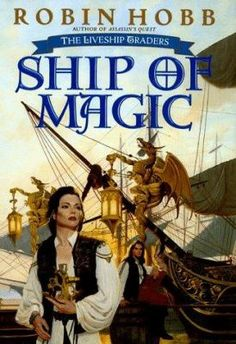 """""""Both of these fantasy fiction series are set in medieval-type worlds. While these are fantasy, magic does not occur often. Both series are dark political sagas with a large cast of characters. Got Books, Books To Read, Farseer Trilogy, The Winds Of Winter, Robin Hobb, Fantasy Fiction, Fictional World, Fantasy Setting, Magic Book"""