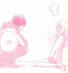 If this ain't me 😂 Manga Anime, Manga Art, Anime Art, Manga Love, Anime Love, Pink Aesthetic, Aesthetic Anime, Manga Rosa Pink, Manga Couple