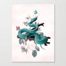 SNAKE 2 Canvas Print