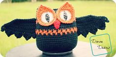 Free Pattern: The Willow Owl-Bat Ami from DivineDebris.com
