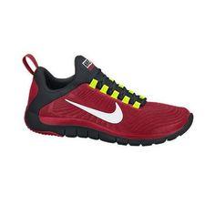 BRAND NEW MENS NIKE FREE TRAINER 5.0 (V5) TRAINING GYM SHOES (RED) Nike Free Trainer, Mens Training Shoes, Nike Store, Nike Men, Trainers, Sportswear, Kicks, Sneakers Nike, Brand New