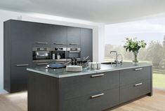 modern light grey kitchen cabinets - Google Search