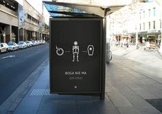 GOD DOES NOT EXIST | Social advertising campaign designed to show the diversity of religion in Poland | Mortis Design