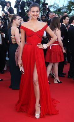 Irina Shayk Cannes 2012
