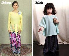 Raya collection for mum & kids  http://www.venusbuzz.com/archives/27042/fashion-friday-baju-raya-for-mom-kids/