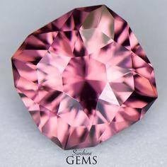 3.71ct Reddish Pink Zircon MJ6183 $425