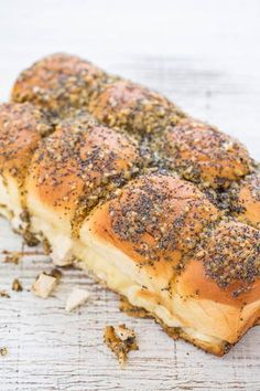 Ranch Chicken and Swiss Sandwich Casserole