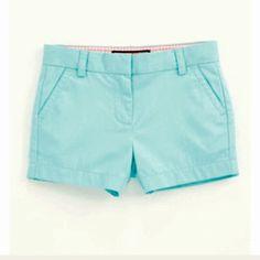 "Vineyard vines shorts EUC vineyard vines chino 4"" shorts. Washed out style pink whale on back. Aqua blue Vineyard Vines Shorts"