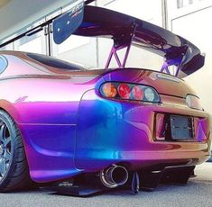 Check out the paint job on this TOYOTA supra Toyota Supra Mk4, Toyota Cars, Tuner Cars, Jdm Cars, Street Racing Cars, Drifting Cars, Import Cars, Car Tuning, Japan Cars