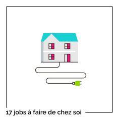 17 jobs à faire à domicile Job A Domicile, Jobs, Own Website, Good To Know, Leadership, Budgeting, Coaching, Entrepreneur, Communication