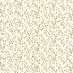 Small Floral Print Fabric  Moda 3734 11  3 Sisters by Jambearies