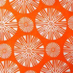 Seraya in Citrus from Katherine Rally Textiles