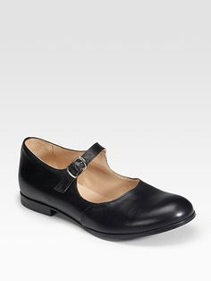 Comme des Garcons Mary Jane Flats the classic shoe