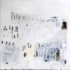 SYLVIA McEWAN_MAKING A MARK White_102x102cm_oil on linen