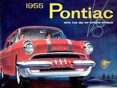 Dépliant Pontiac 1955 - Collectible Automobile Magazine.