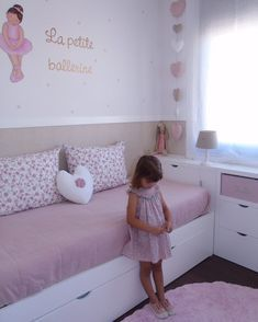 No automatic alt text available. Ikea Girls Room, Small Room Bedroom, Girls Bedroom, Deco Kids, Girl Bedroom Designs, Bedroom Ideas, Kids Bedroom Furniture, Kids Room Design, Little Girl Rooms