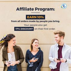 Earn 10% of ALL ORDERS made by people you bring. Your people also get a 17% discount on their first order.  #best #essays #academicwriting #blog #onlineservice #essay #service #feedback #writinghelp #help #sale #affiliate #program #discount
